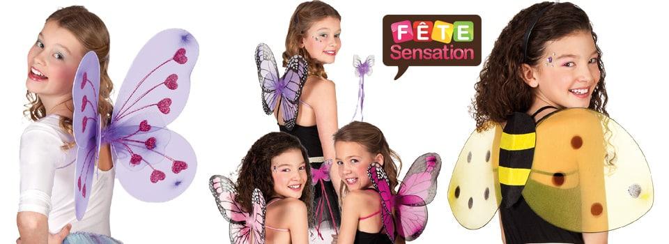 Ailles Papillons enfants