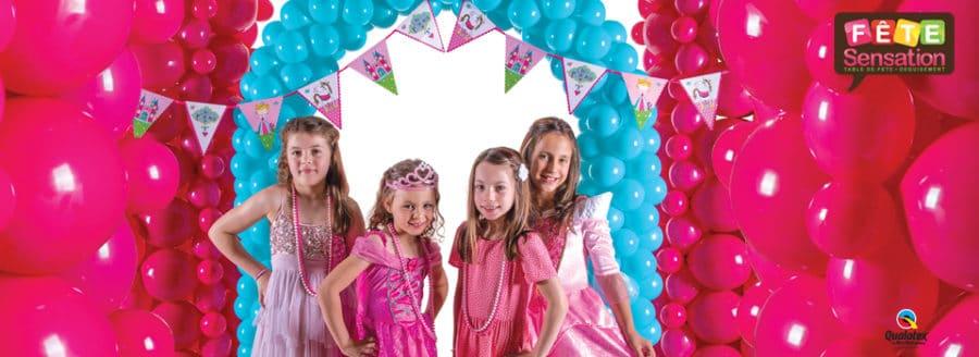Ballon anniversaire thème princesse