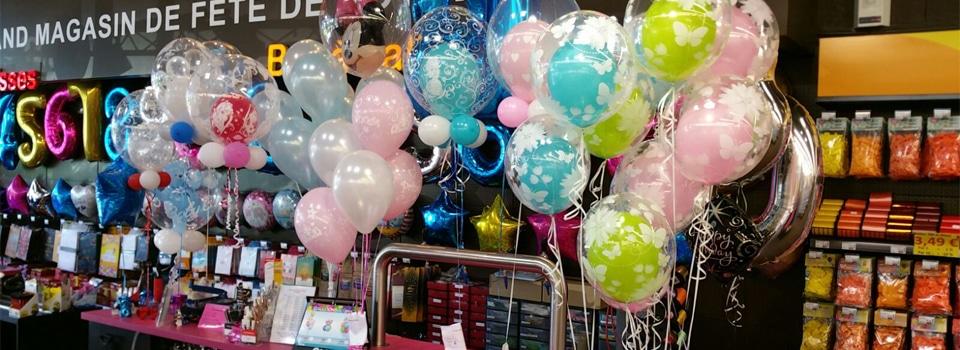 Vos bouquets de ballons sur-mesure