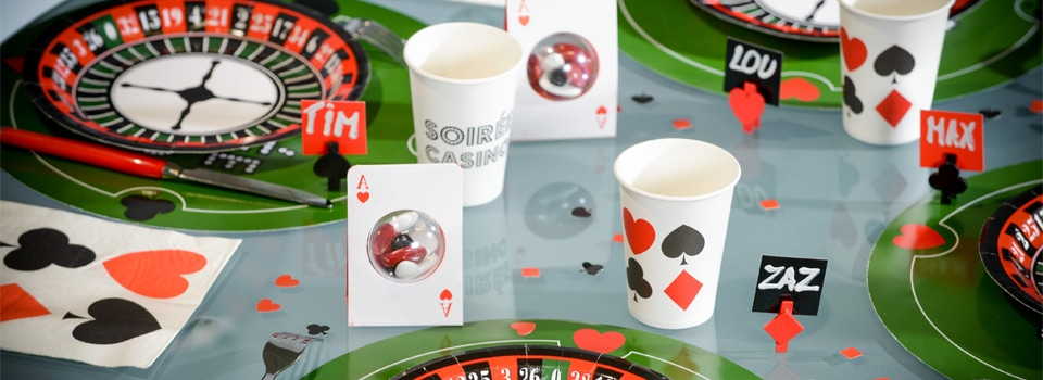 Soirée thème Casino Poker