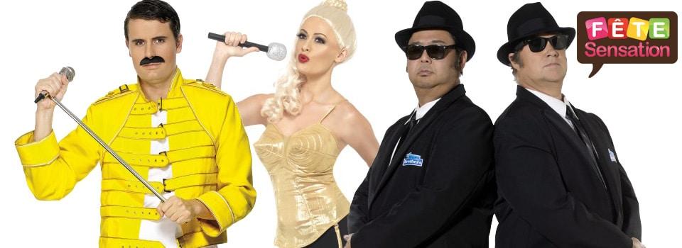 Célébrités chanteurs