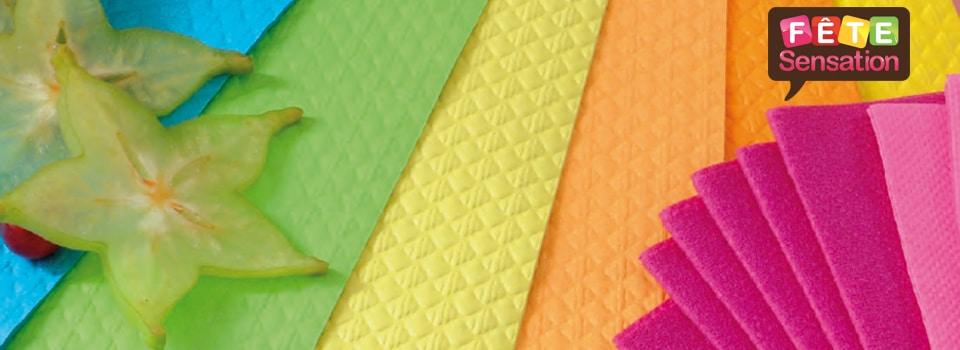 Déco de table - Nappes et serviettes