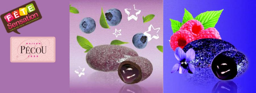 Dragées Pérou Myrtilles et Violette