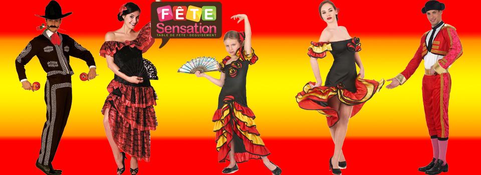 déguisement espagnol flamenco torero