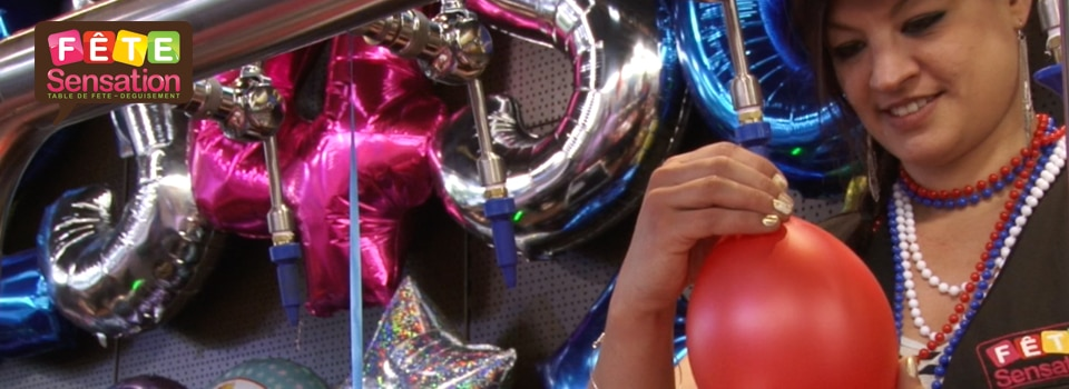 Gonflage de ballons hélium