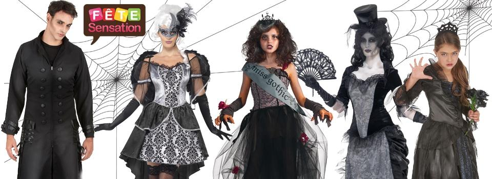 Déguisements et accessoires gothique halloween