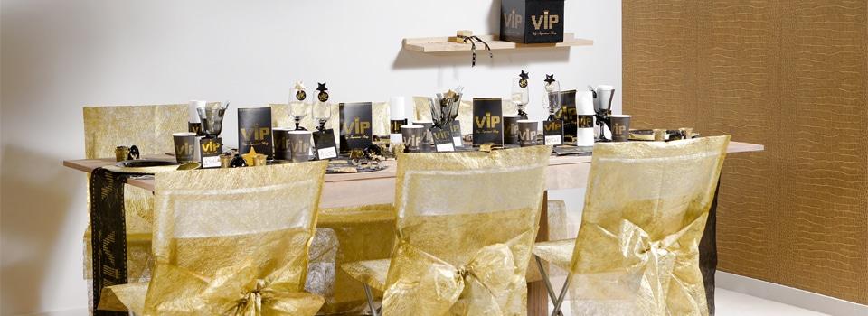 Table et déco Thème VIP