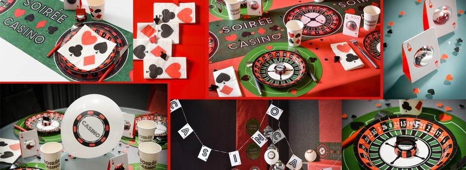 Table et déco Casino