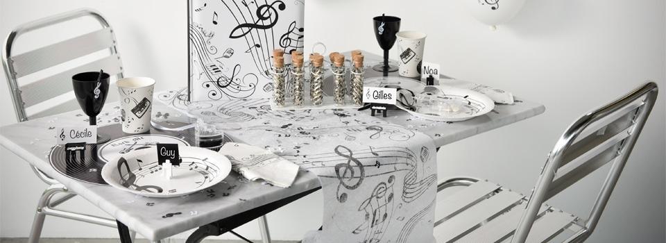 Table et déco Musique