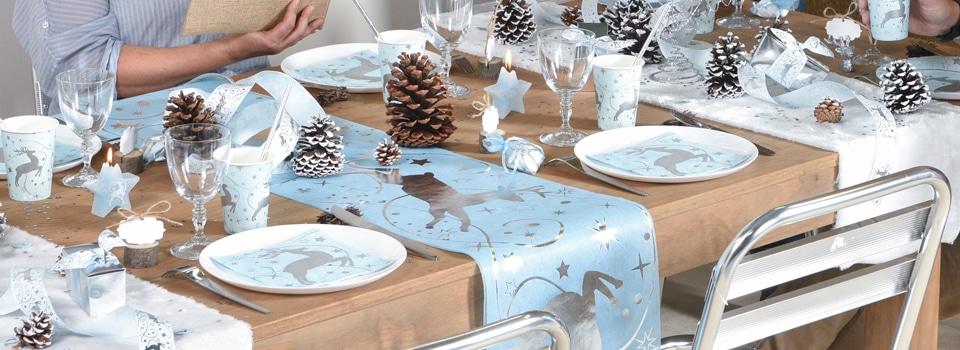 id es de tables th me no l nouvel an anniversaire halloween. Black Bedroom Furniture Sets. Home Design Ideas