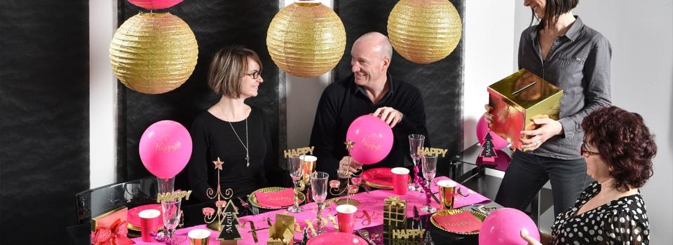 Table et déco de nouvel an