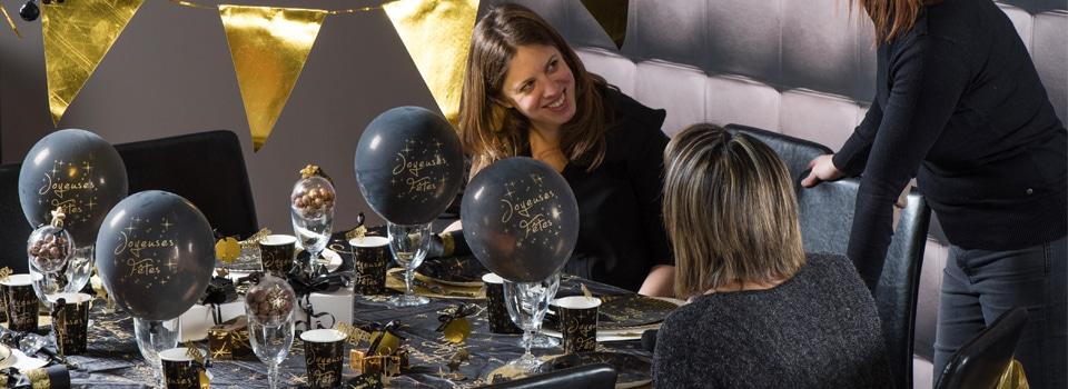 Joyeuses fêtes - Table Nouvel an