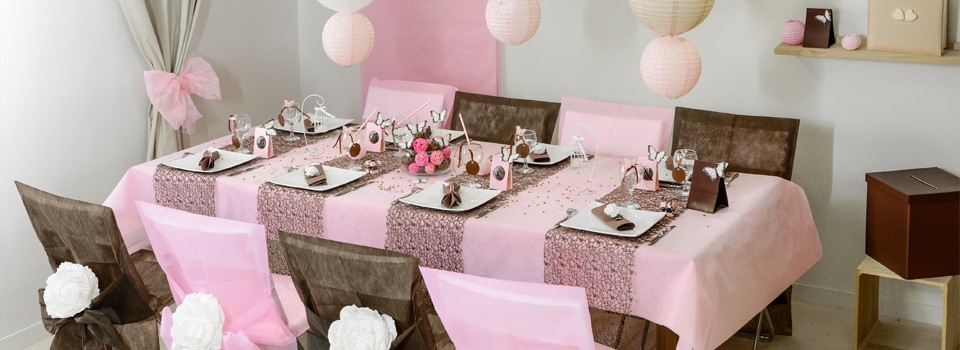 Id es de tables th me no l nouvel an anniversaire for Decoration de table idees