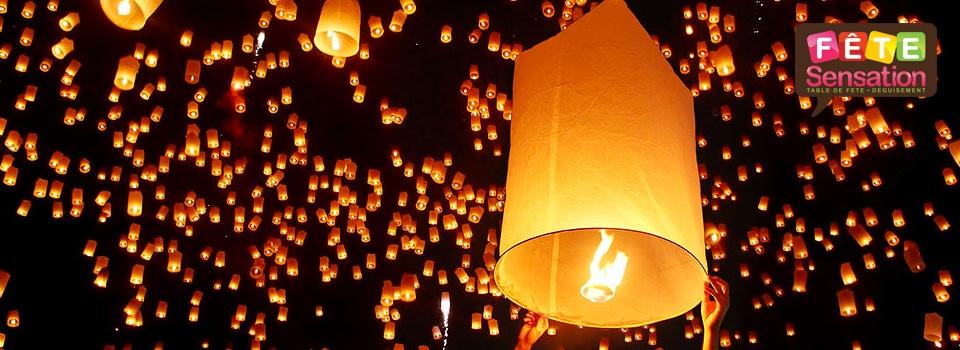 Lanternes volantes, lampions 2