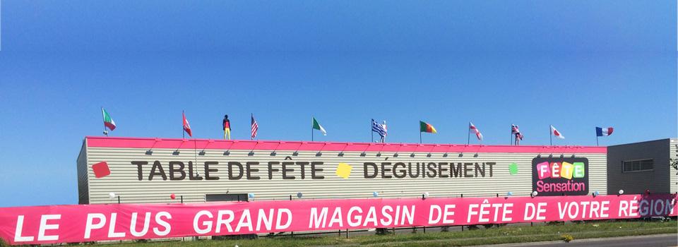 magasin de fête oise St-Maximin (60)