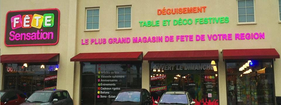 Magasin de fête Paris Ouest Orgeval