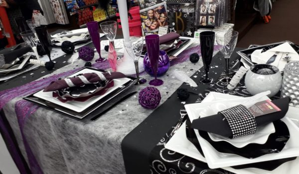 Table Et Décoration Festives Pour Le Nouvel An