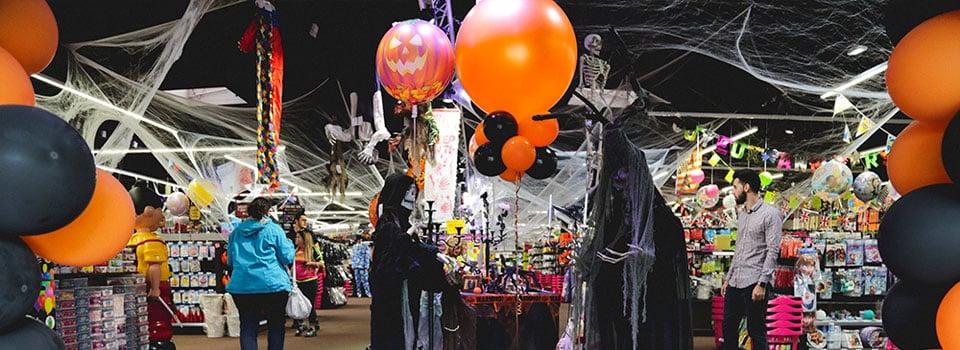 Ballons et déco Halloween