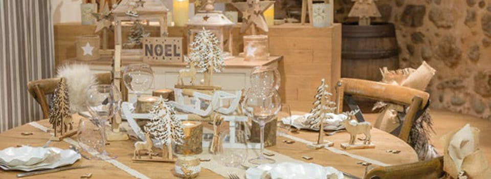 Table de noël et nouvel an