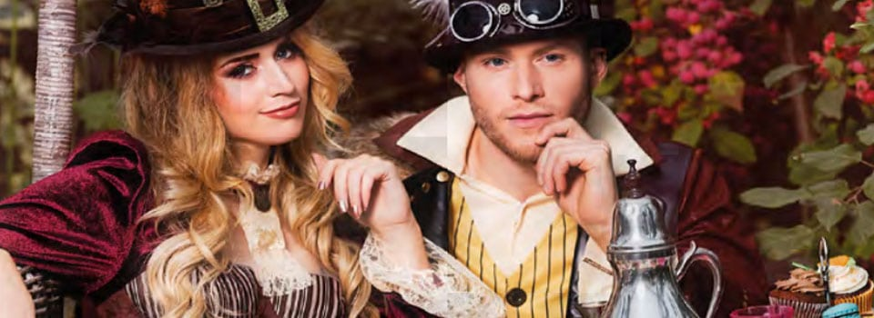 Costume steampunk homme et femme