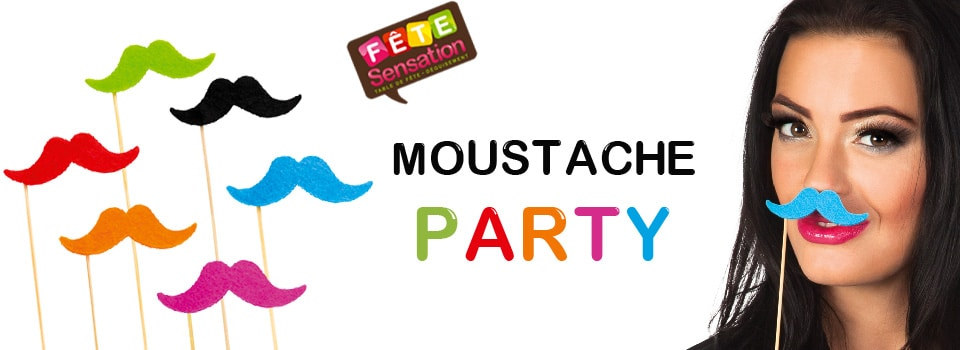 Moustache Party Photo Booth