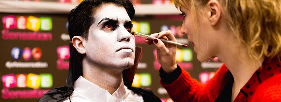 Maquillage spécial Halloween ! , Chez Fête Sensation